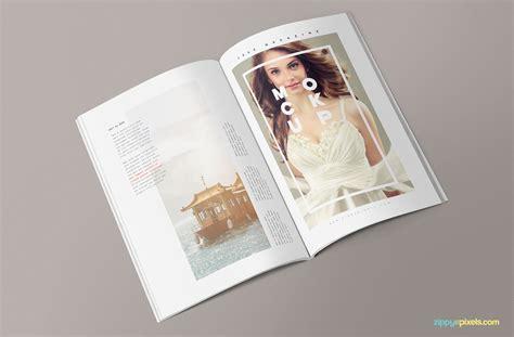 Free Magazine Mockup 3 Free Magazine Mockup Templates Zippypixels