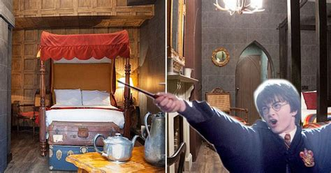 harry potter themed hotel  london  muggles