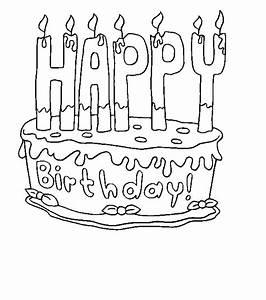 Dessin Gateau D Anniversaire : g teau d 39 anniversaire coloriages th matiques ~ Louise-bijoux.com Idées de Décoration