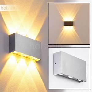 Lampen Spots Badezimmer : lente wandleuchte led aluminium led115 b ~ Markanthonyermac.com Haus und Dekorationen