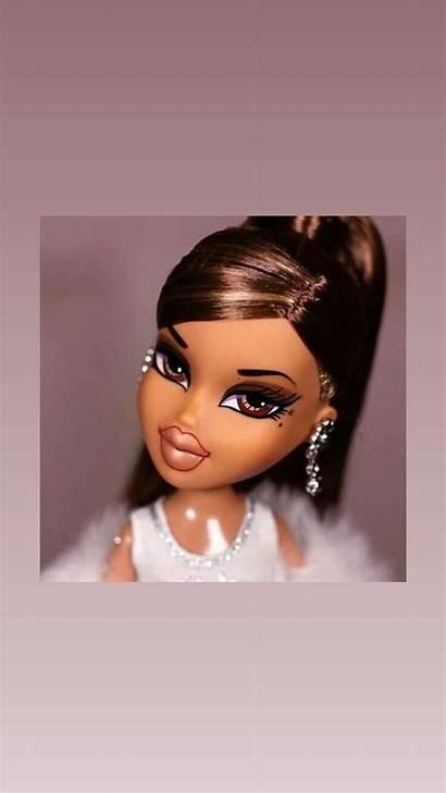 Bratz Wallpapers Baddie Doll Aesthetic Makeup Iphone