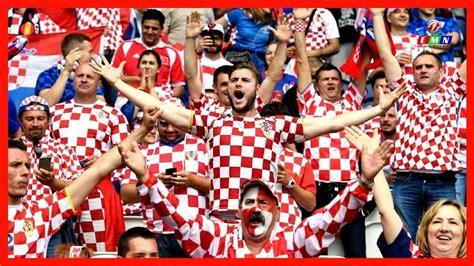 Croatia Fans Celebrating Fifa Russia World Cup Youtube