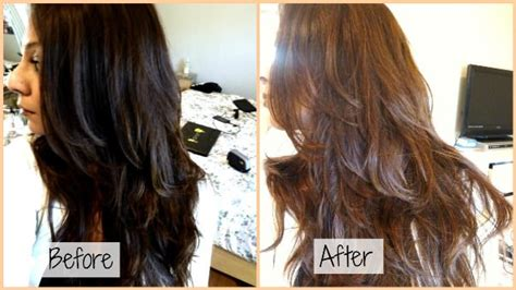 How To Lighten Colored Black Hair Naturally by How To Lighten Dyed Hair