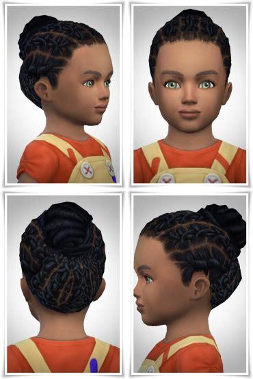 sims  hairs birksches sims blog toddler box braids hair