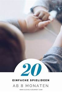 Spielzeug Für 8 Monate Altes Baby : spielideen was machen mit babys ab 8 monaten montessori aktivit ten f r babys und kinder ~ Yasmunasinghe.com Haus und Dekorationen