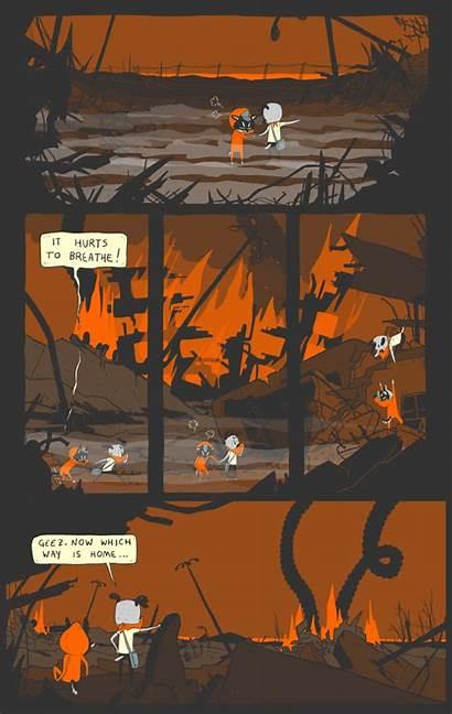 Comic Semi Animated Graphic Novel Menu Main