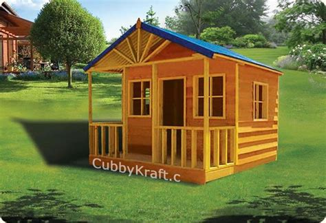 Bear Creek Lodge Cubby House Kids Playground Equipment By