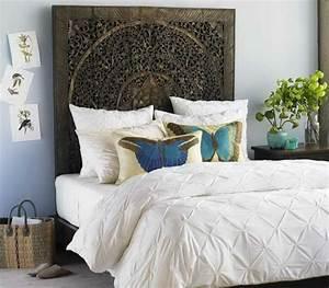 Tete De Lit Chic Et Design : fabriquer une t te de lit originale et jolie ~ Teatrodelosmanantiales.com Idées de Décoration