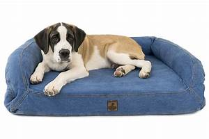 Tuff mutts rectangular memory foam crumb waterproof dog for Dog resistant bedding