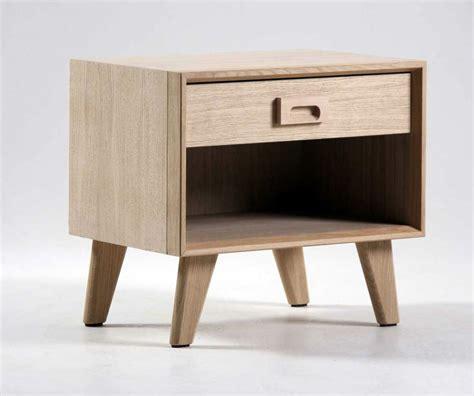 valet de chambre en bois chevet scandinave 1 tiroir brin d 39 ouest