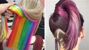 Amazing Hair Color Transformation Beautiful Hairstyles