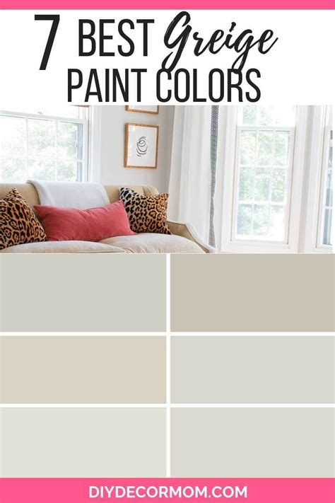 greige color greige paint 7 best greige paint colors you need in your