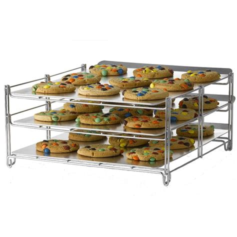 rack of in oven nifty home products 3 in 1 baking rack oven insert