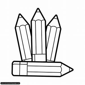 Pencils And Crayons Clipart (50+)