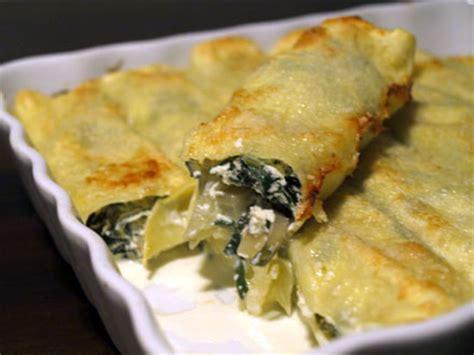 cuisiner blettes cannellonis de blettes à la ricotta et à la menthe cookismo recettes saines faciles et