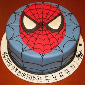 let them eat cake spiderman face cake With spiderman template for cake