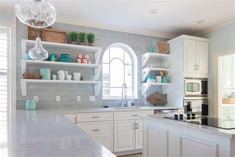 coastal kitchen makeover  lilypad cottage