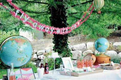 fun travel themed birthday party ideas tip junkie