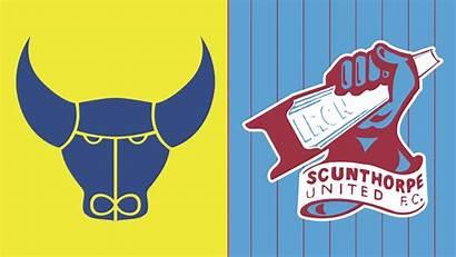 United Oxford Scunthorpe Iron Stadium Match Matchday