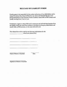 sample liability release form effortless vision personal With participation waiver template