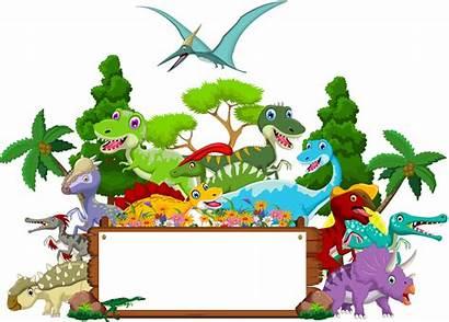 Dinosaur Landscape Clipart Transparent Webstockreview Zezete Du