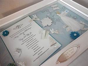 20 shadow box ideas cute and creative displaying With wedding invitation box ideas