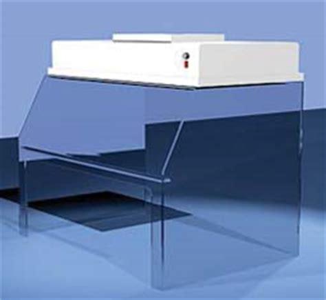 table top laminar flow hood air control polyprolabs sit down horizontal laminar flow