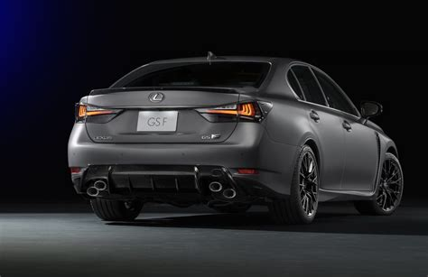 Lexus Rc F & Gs F Matte Grey Special Editions Coming To