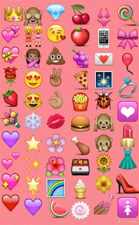 Wallpaper Girly by Emoji Wallpaper Girly Best Wallpaper