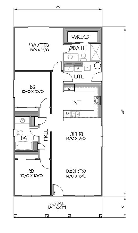 cottage style house plan  beds  baths  sqft plan   floor plan main floor p