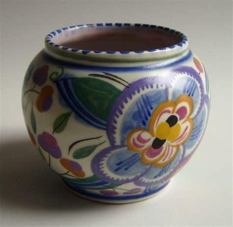poole pottery images  pinterest vase jars