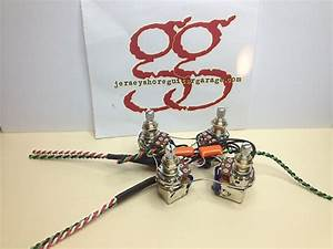 Ultimate Sg Gibson   Epiphone Sg Push  Pull Wiring Harness