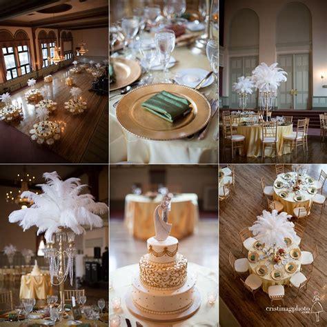 Great Gatsby wedding décor ideasMadamPaloozaEmporium