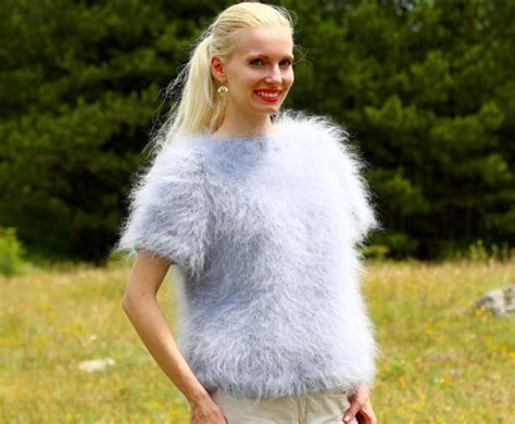 Angora Mohair Soft Sweater