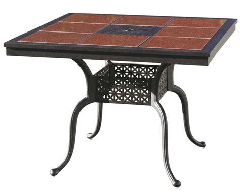 201077 c darlee 41 x 41 square granite top dining patio