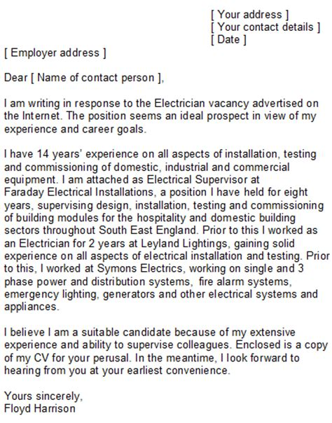 electrician cover letter samples professional cv for electrical engineer