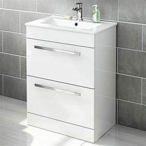Petit Meuble Vasque : meuble vasque salle de bain petite profondeur valdiz ~ Edinachiropracticcenter.com Idées de Décoration