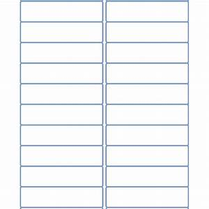 4quot x 1quot address sheet labels for laser and inkjet printers for Dymo address label template