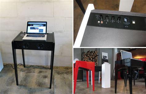 petit bureau ordinateur portable ld 120 un dock bureau quot design quot pour ordinateur portable