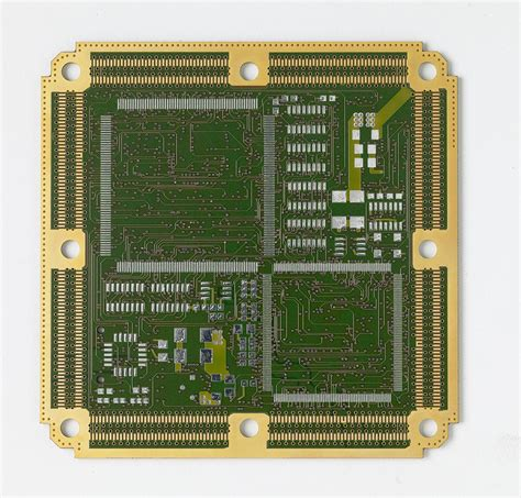 Layer Rigid Flex Circuit Boards With Gold Solder