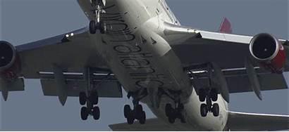 Landing 747 Gear Pure Undercarriage Perfection Virgin