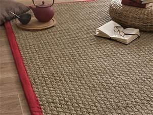 decoration tapis rond jonc de mer 87 avignon tapis With tapis jonc de mer avec les canapés chez conforama