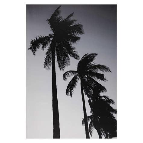 toile imprimee noir et blanc d 233 co tableau noir