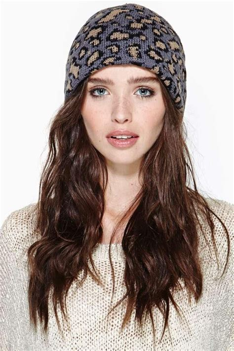 lazy kitty beanie awesome hairstyles pinterest the