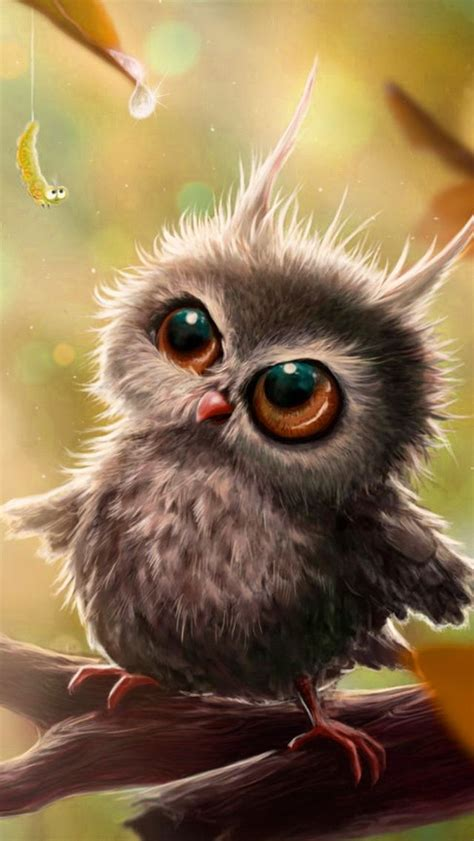 Owl Animation Wallpaper - owl iphone wallpaper