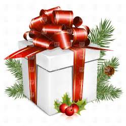 present with bow merry vector clipart image 5359 rfclipart
