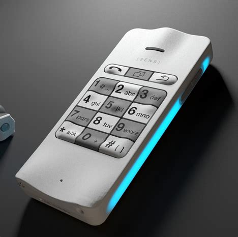 cell phone for blind make sens phone yanko design