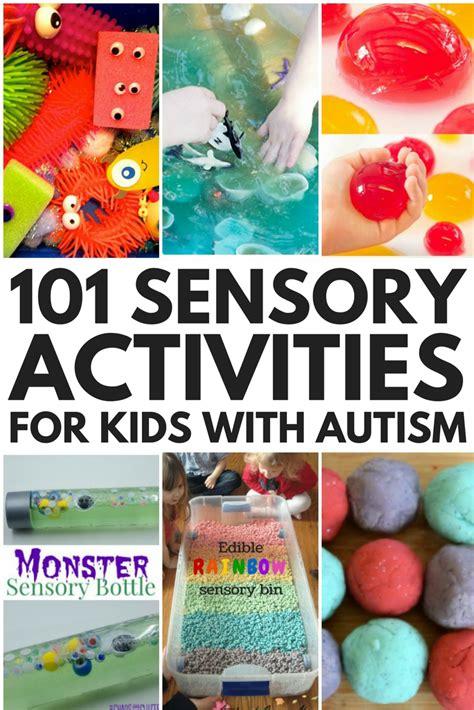 sensory play  sensory activities  kids  autism