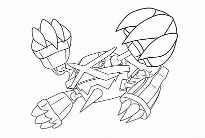 Coloring Pages Onix Pokemon Ex Printable Getcolorings