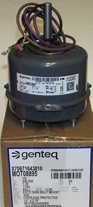 Mot08895 American Standard Trane Condenser Fan Motor
